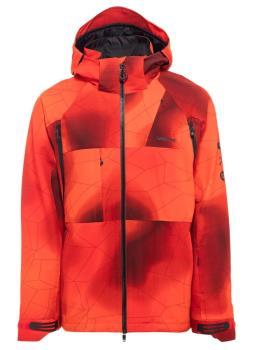 Bonfire Aspect 3l Stretch Ski/Snowboard Jacket, M Lava
