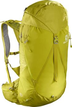 Salomon Out Night 30+5 30 L Hiking Backpack, S/M Citronell/Sulphur