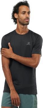 Salomon Agile Training Tee Hiking/Running T-shirt L Black