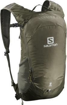 Salomon Trailblazer 10 Day Pack/Hiking Backpack, 10L Martini Olive