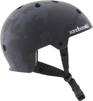 Sandbox Legend Low Rider Park Ski/Snowboard Helmet, L Black Camo