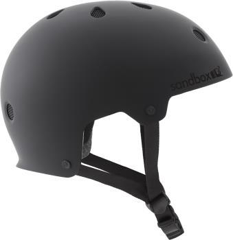 Sandbox Legend Low Rider Park Ski/Snowboard Helmet, L Matte Black