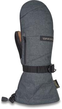 Dakine Leather Titan Gore-Tex Ski/Snowboard Mittens, L Carbon