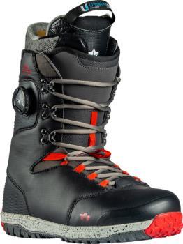 Rome Libertine Hybrid Boa Snowboard Boots, UK 8 Black 2021