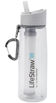 Lifestraw Go Travel Water Filter Bottle, 650ml Clear
