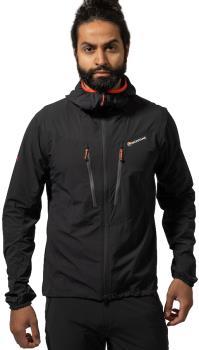 Montane Adult Unisex Alpine Edge Softshell Hiking/Climbing Jacket, M Black