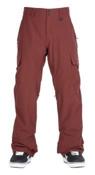 Bonfire Adult Unisex Tactical Ski/Snowboard Pants, S Maroon