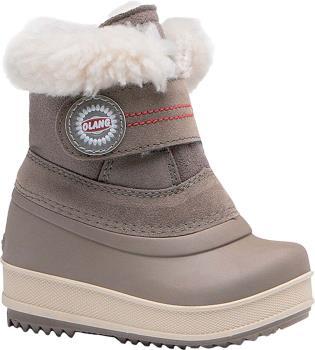 Olang Elfo Kids Winter Snow Boots, UK Child 6/6.5 Mushroom