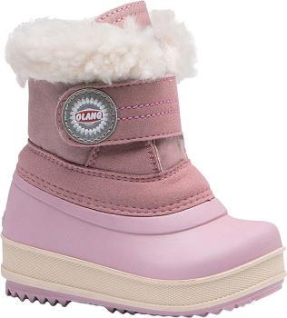 Olang Elfo Kids Winter Snow Boots, UK Child 9.5/10 Powder Pink