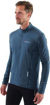 Montane Dragon Pull-On Trail Running Technical Fleece, XL Orion Blue