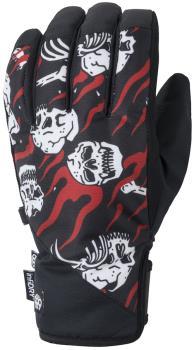 686 Ruckus Pipe Ski/Snowboard Gloves, M Sketchy Tank Hono
