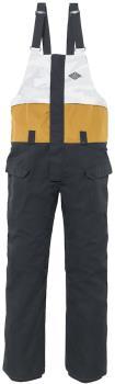 686 Frontier Shell Snowboard/Ski Bib Pants, XL Black Colorblock