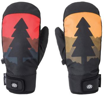 686 Mountain Men's Snowboard/Ski Mitts L Tree life