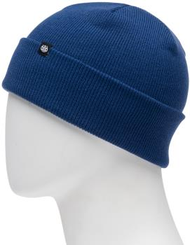 686 Standard Roll Up Ski/Snowboard Beanie, One Size Blue Storm