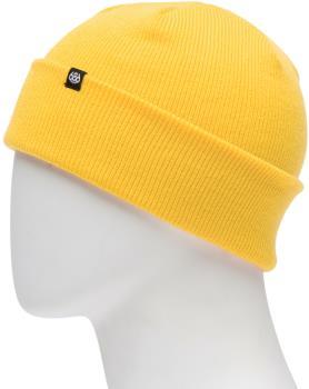 686 Standard Roll Up Ski/Snowboard Beanie, One Size Sub Yellow
