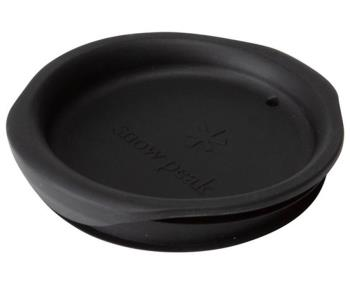 Snow Peak Silicone Lid For Double Wall 450 Mug, Black