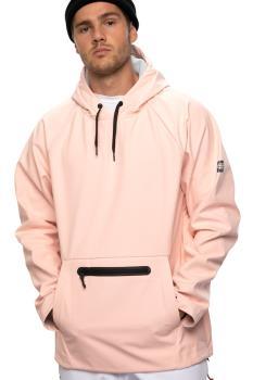 686 Hyperchromic Hoody Waterproof Snowboard/Ski Jacket L Dusty Pink
