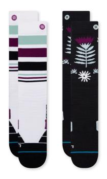 Stance Snow Performance Blend Ski/Snowboard Socks, M Monro 2 Pack