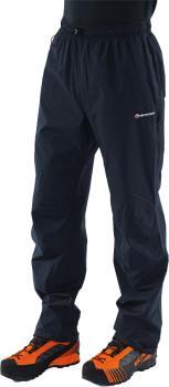 Montane Adult Unisex Pac Plus Pants Short Waterproof Gore-Tex Trousers, S Black
