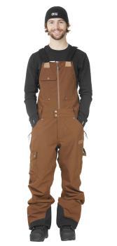 Picture Yakoumo Bib Ski/Snowboard Pants S Brown