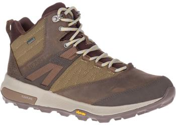 Merrell Adult Unisex Zion Mid Gore-Tex Hiking Boots, Uk 12 Brown