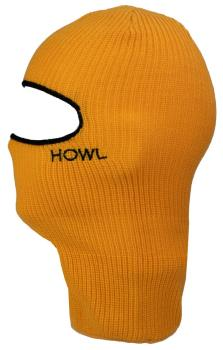 Howl Burglar Snowboard/Ski Winter Balaclava One Size Mustard