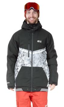 Picture Panel Print Ski/Snowboard Jacket, XL Drone Forest