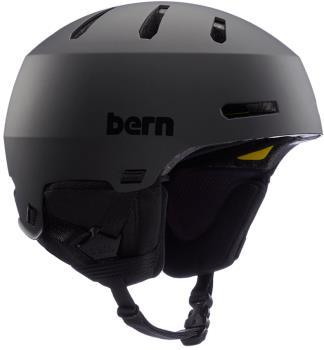 Bern Macon 2.0 MIPS Ski/Snowboard Helmet, L Matte Black