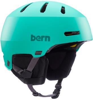 Bern Macon 2.0 MIPS Ski/Snowboard Helmet, M Matte Mint