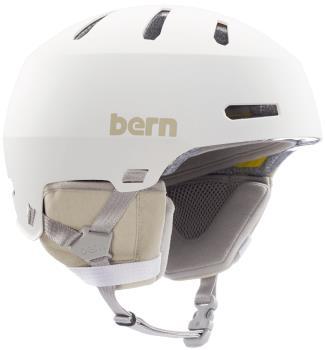 Bern Macon 2.0 MIPS Ski/Snowboard Helmet, M Matte White