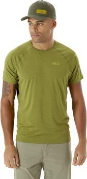Rab Mantle Tee Men's T-Shirt, S Chlorite Green Marl