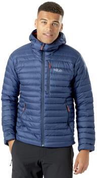 Rab Microlight Alpine Hooded Insulated Down Jacket, M Deep Ink