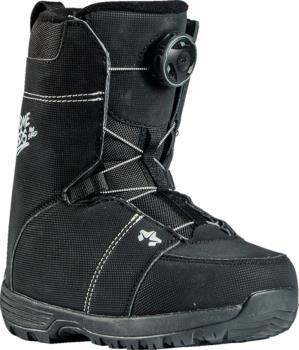 Rome Mini Shred BOA Kids Snowboard Boots UK 2 Black 2021