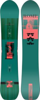 Rome Muse Women's Hybrid Camber Snowboard, 146cm 2022