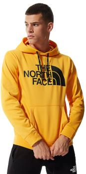North Face Surgent Halfdome Pullover Climbing Hoodie L Summit Gold