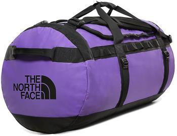 The North Face Base Camp Large Duffel Travel Bag, 95l Peak Purple