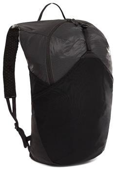 The North Face Flyweight Pack Packable Backpack 17L Asphalt/TNFBlack