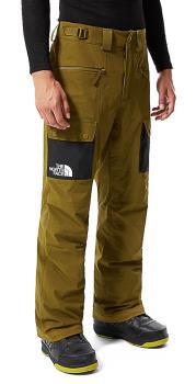 North Face Slashback Cargo Ski/Snowboard Pants, L Fir Green/TNF Black