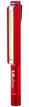 Nebo Lil Larry Work Light High Power LED Torch, 250lm Red
