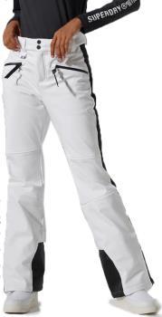 Superdry Nu Slalom Slim Women's Ski/Snowboard Pants, UK 12 White