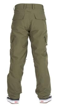 Bonfire Adult Unisex Tactical Ski/Snowboard Pants, L Olive