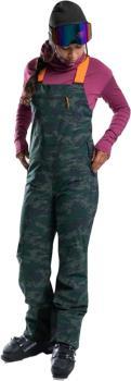 Orage Ridge Women's Ski/Snowboard Bib Pants, M Outlaw Print