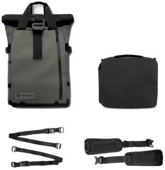 WANDRD PRVKE V3 Bundle Camera Backpack, 21L Wasatch Green