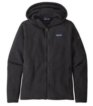 Patagonia Better Sweater Hoody Women's Fleece Jacket, S Black