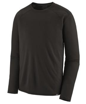 Patagonia Capilene Midweight Thermal Crew Long Sleeve Shirt L Black