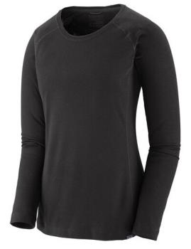 Patagonia Capilene Midweight Women's Thermal Crew, S All Black