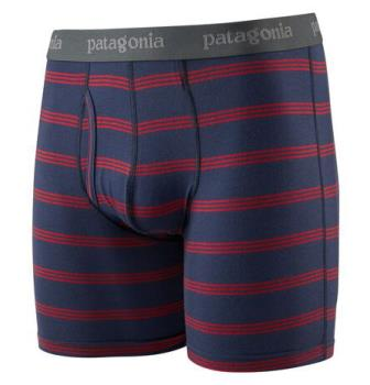 "Patagonia Essential Boxer Briefs 6"" Underwear, XL New Navy"