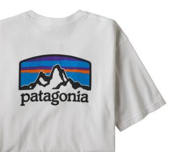 Patagonia Fitz Roy Horizons Responsibili-tee T-Shirt, L White