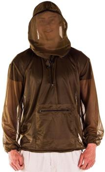 Pyramid Midge Jacket Insect Proof Hooded Outdoorwear, L/XL Grey