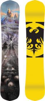 Never Summer Peacemaker Hybrid Camber Snowboard 155cm 2021